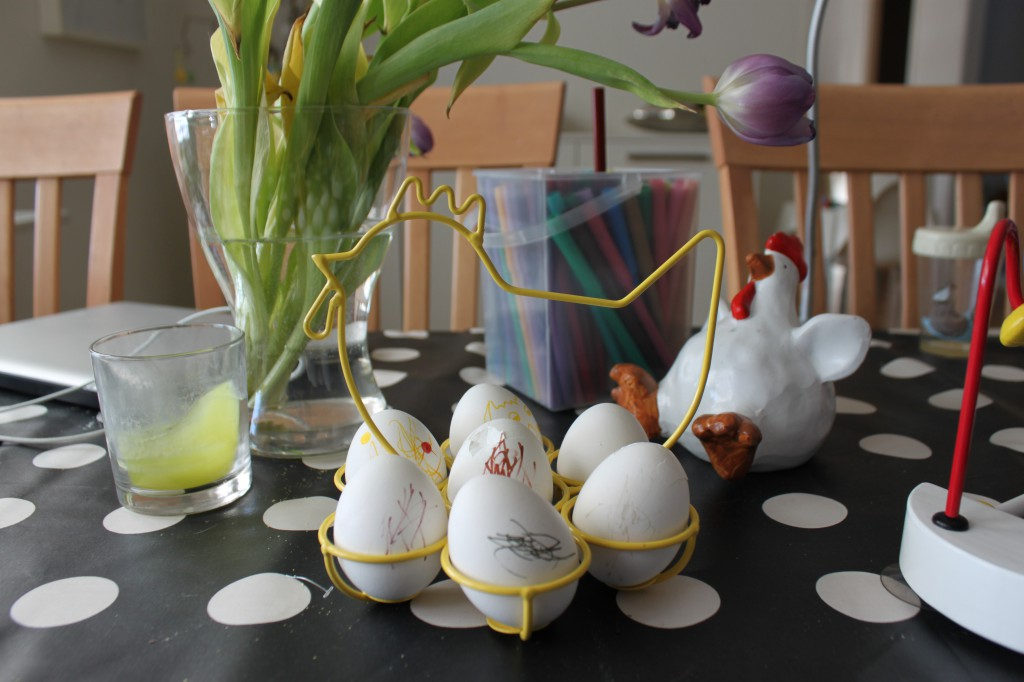 Målade ägg 2013